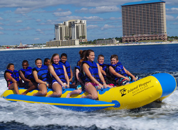 Picture of Island Hopper Elite Class Heavy Commercial Banana Taxi - 12 person