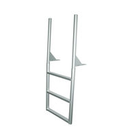 """Picture of 4-Step Aluminum Dock Ladder with 4"""" Wide Steps"""