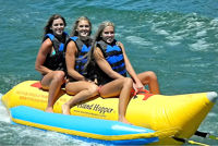 Picture of Island Hopper Banana Water Sled - 5 person