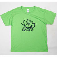 Picture of Barts Frog Skiing Youth Tee Lime