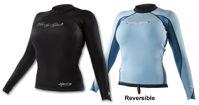 Picture of Body Glove Aura Women's Reversible L/S Neoprene Rash Guard (Sz 11/12 only)