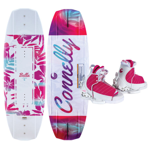 Picture of Connelly Bella Kid's Wakeboard w/ Lulu Boots - 2021