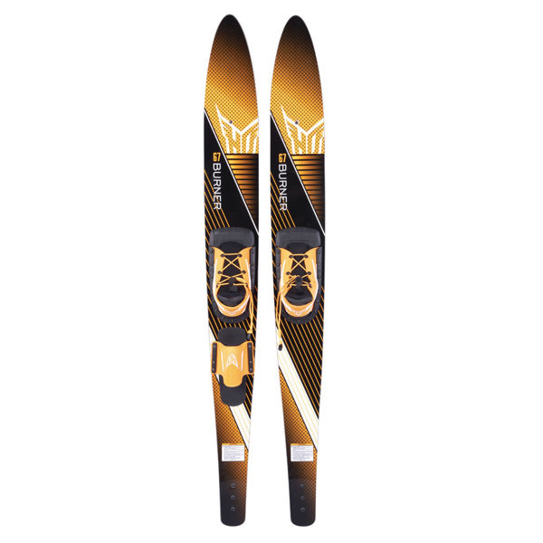 """Picture of HO Burner Combo Skis (67"""")"""