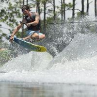 Picture of HO Fusion Freeride Slalom w/ Double FreeMax Bindings - 2021