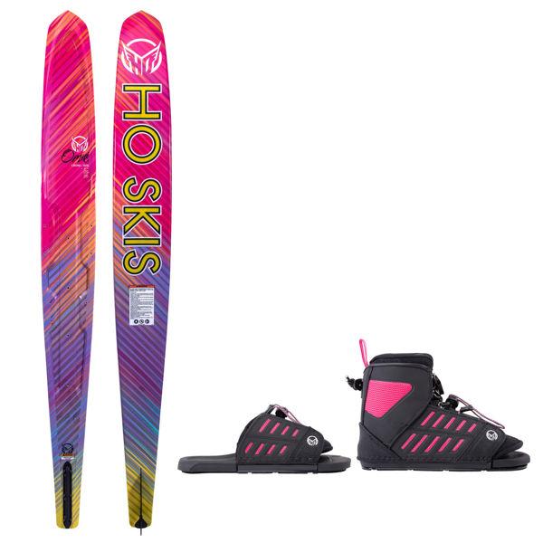 Picture of HO Girl's Omni Slalom with FreeMax Binding w/ ART - 2021
