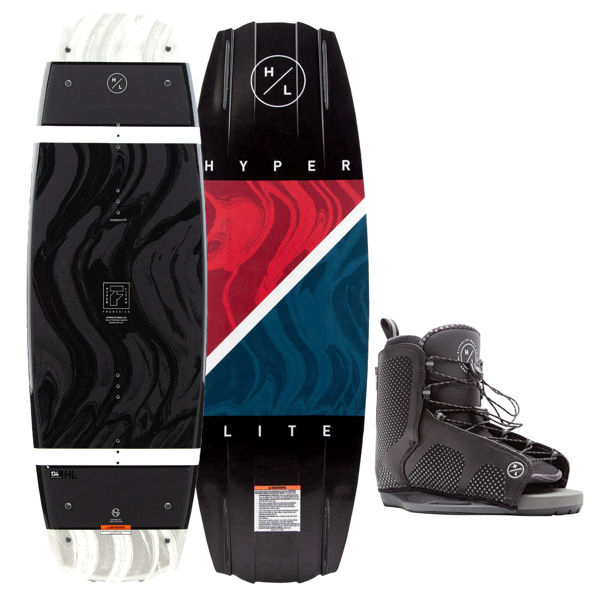 Picture of Hyperlite Franchise Wakeboard w/ Black Remix Boots - 2021