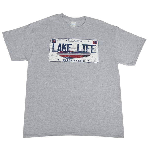 Picture of License Plate Unisex Tee (Sz 3XL)