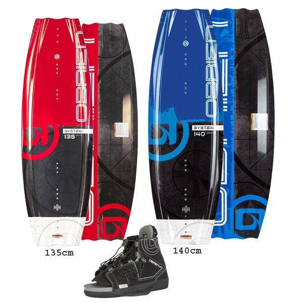Picture of O'Brien System Wakeboard with Clutch Boots 2021