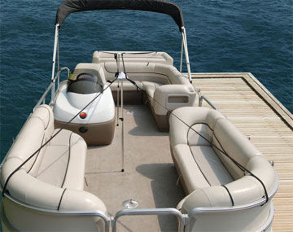 Picture of Pontoon Boat Cover Support System