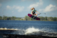 Picture of Ronix Quarter Til Midnight Women's Wakeboard w/ Halo Boots - 2021