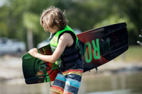 Picture of Ronix Vault Kid's Wakeboard with District Boots - 2021