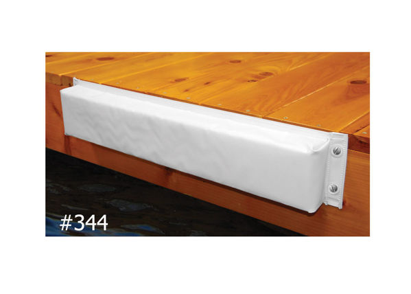 Picture of Vinyl Covered Dock Bumper Straight
