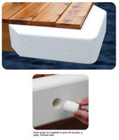 Picture of Dock Cushion Corner Bumper - White
