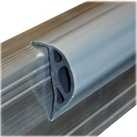 """Picture of Dock Edging """"P"""" Shape - Silver"""