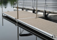 Picture of Dock Edging Side Gard - Silver