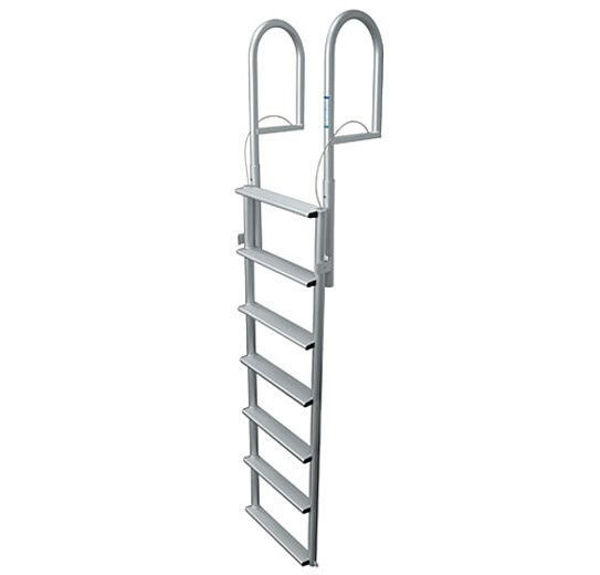 Picture of 7-Step Aluminum Lift Dock Ladder