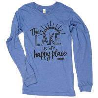 Picture of Bart's Happy Place Women's Longsleeve Tee