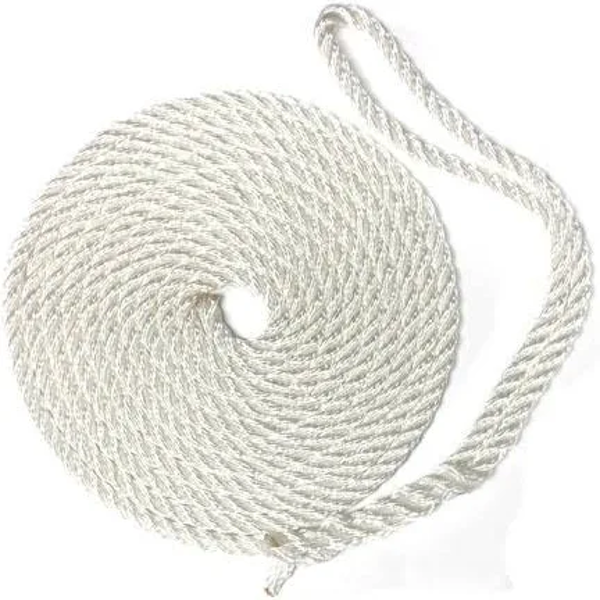 """Picture of Dock Line 3/8""""X 20' - Twisted Nylon"""