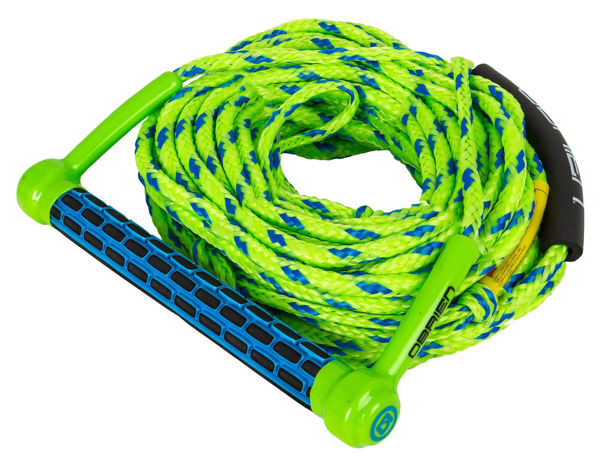 Picture of O'Brien Floating 1-Section Ski Combo -Green/Blue
