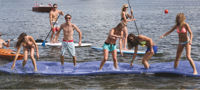 """Picture of American Made Floating Mat - 6' x 18' x 1 3/8"""""""