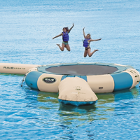 Picture of Rave Trampoline w/ Launch & Log - Northwoods 20'