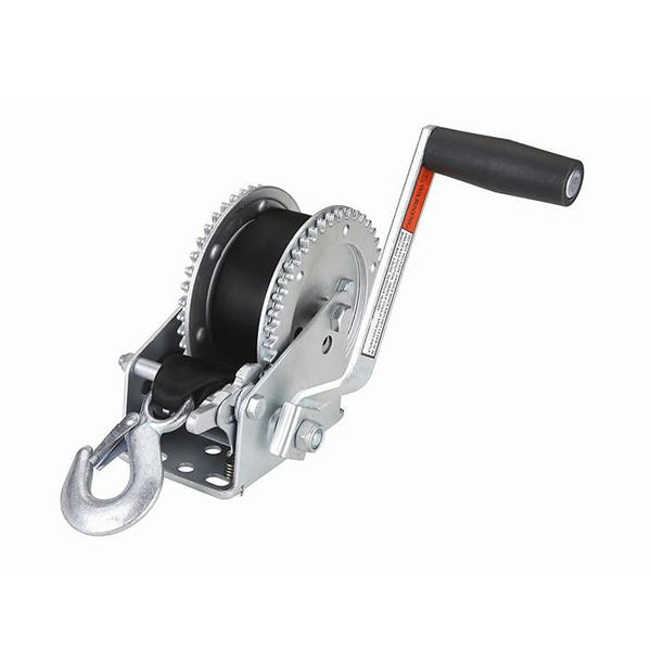 Picture of 2000lb Trailer Winch with 20' Strap with Hook