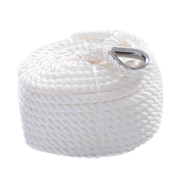 """Picture of Anchor Line 1/2""""x100' - Twisted Nylon"""